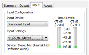 Configuración del Shoutcast